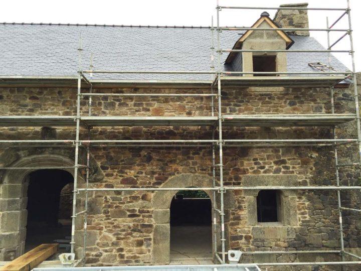 Rénovation d'un corps de ferme - Centre-Bretagne